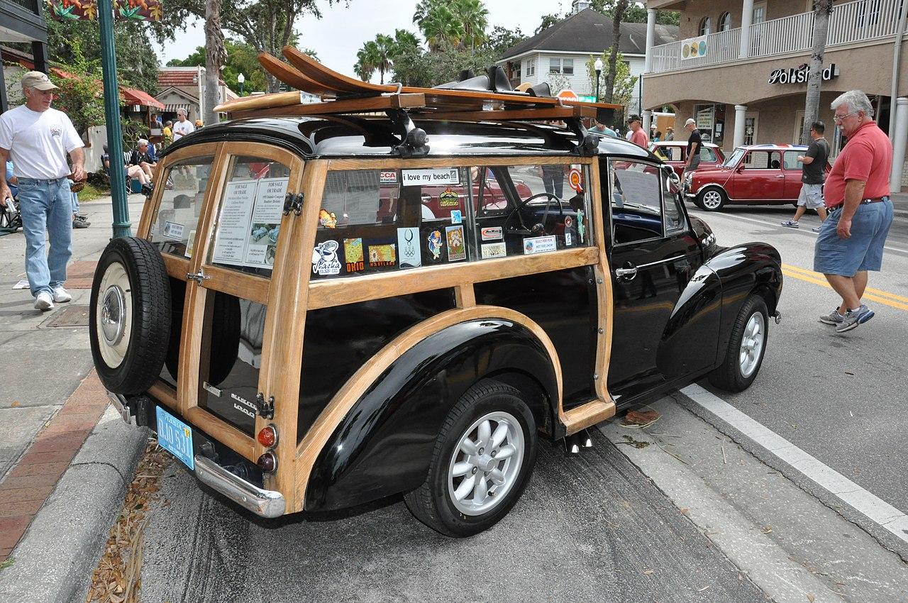 file 1964 morris minor traveller woody. Black Bedroom Furniture Sets. Home Design Ideas