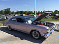 1966 AMC Marlin in Marquessa Light Mauve with black vinyl at AMO 2015 meet 01.jpg