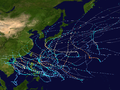 1971 Pacific typhoon season summary map.png