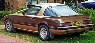 Mazda RX-7 - 1984–1985 Mazda RX-7 (Series 3; Australia)