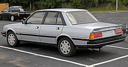 1987 Peugeot 505 Turbo S, left rear (US).jpg