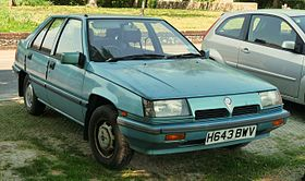 1991 Proton Saga 1.5 GL Aeroback in the United Kingdom.jpg