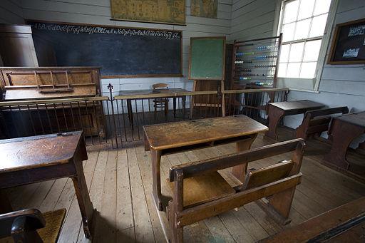19th century classroom, Auckland - 0785