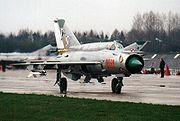 1 Pucki Dywizjon Lotniczy MiG-21 bis
