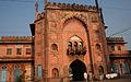 1 of the Taj-ul-Masjid gates Bhopal Madhya Pradesh India.jpg