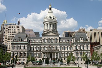 Baltimore City Council - Image: 1city hall baltimore