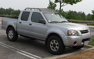 "Nissan Navara - ""Frontier"" facelift crew cab"