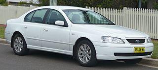 Ford Falcon (BA) Motor vehicle