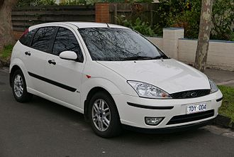 Ford Focus - Ford Focus hatch (first generation facelift)