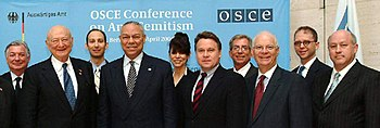 The US delegation for the 2004 OSCE Conference...