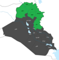 2005 Iraqi Kurdistan independence referendum map-ar.png