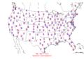 2006-06-06 Max-min Temperature Map NOAA.png