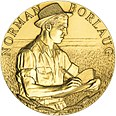 2006 Norman Borlaug Congressional Gold Medal front.jpg