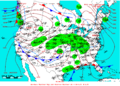 2007-01-21 Surface Weather Map NOAA.png