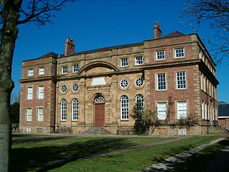 Cleveland, England - Kirkleatham Free School of 1709, now Kirkleatham Old Hall Museum