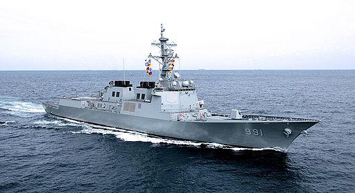 2008년9월27일 해군 세종대왕함기동 (1) (7193823614)