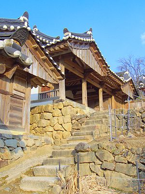 Yangdong Folk Village - Image: 2008 Korea Gyeongju Yangdong Village 01