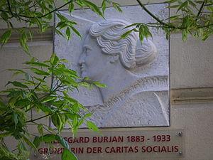 Hildegard Burjan - Plaque