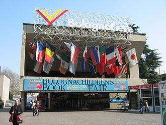 Bologna Children's Book Fair - The Entrance to The Bologna Children's Book Fair in 2008