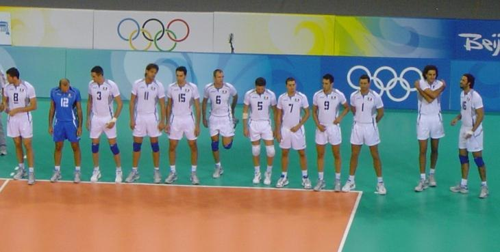 2008 Olympic Volleyball team Italy
