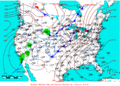 2009-02-07 Surface Weather Map NOAA.png