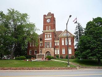 Dickinson County, Michigan - Image: 2009 0619 Iron Mountain Courthouse