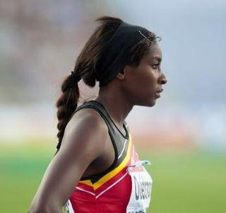 Élodie Ouédraogo Belgian sprinter