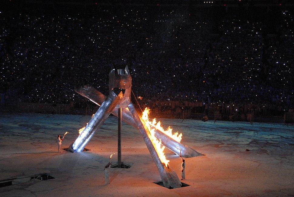 2010 Opening Ceremonies - Lighting Interior Cauldron