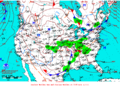 2012-02-04 Surface Weather Map NOAA.png