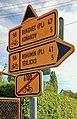 2012 Cierlicko Dolne, Znaki szlaków rowerowych (03).jpg