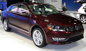 Volkswagen Passat (NMS) - 2012 Volkswagen Passat TDI SEL -- 2011 DC