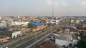 Yaba, Lagos - Image: 2013 Yaba Lagos Nigeria 12998105744
