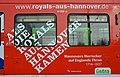 2014 Als die Royals aus Hannover kamen. Hannovers Herrscher auf Englands Thron 1714-1837. Niedersächsische Landesausstellung. üstra Hannoversche Verkehrsbetriebe A (7).JPG