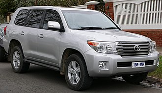 Toyota Land Cruiser - Toyota Land Cruiser (J200)