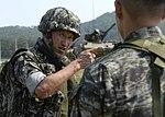 2015.7.14. 연평부대 - 대공사격훈련 14th, July, 2015, ROK Marine YP Unit-Antiaircraft Training (19768433311).jpg