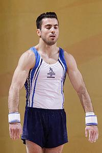 2015 European Artistic Gymnastics Championships - Vault - Andrey Medvedev 01.jpg