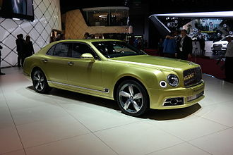Bentley Mulsanne (2010) - Bentley Mulsanne Speed (2016 facelift)