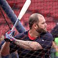2016-10-08 Mike Napoli batting practice.jpg