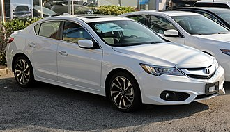 Acura ILX - 2016 Acura ILX A-Spec, facelifted model (USA)