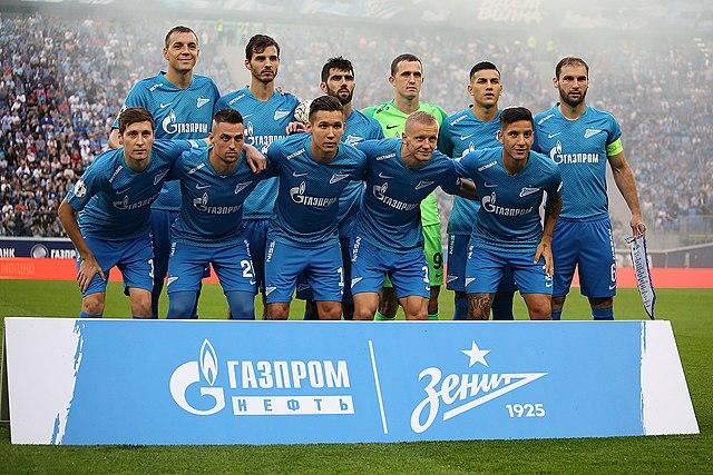 Team photo of Zenit FC