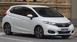2018 Honda Jazz (GK5 MY18) VTi-S hatchback (2018-08-06) 01.jpg