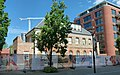 2018 Woolwich Royal Arsenal, Pavilion Square construction site 02.jpg