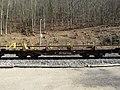2019-03-03 (205) NÖVOG 93100 rail service vehicle at Bahnhof Schwarzenbach an der Pielach, Frankenfels, Austria.jpg