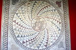 2043 - Archaeological Museum, Athens - Garden - Mosaic - Photo by Giovanni Dall'Orto, Nov 11 2009.jpg