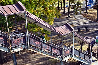 Van Cortlandt Park–242nd Street (IRT Broadway–Seventh Avenue Line) - Street stair