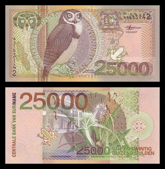 25.000 Fiorini surinamesi