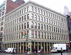 George Bruce (industrialist) - 254 Canal Street, built by Bruce for his business