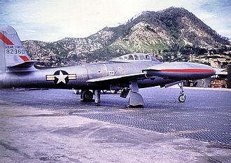 Daegu International Airport - Image: 27th fighter escort F 84E 49 2360