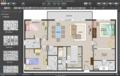 3-bedrooms house floor plan.png