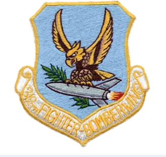 312th Aeronautical Systems Wing - Image: 312th Fighter Bomber Wing Emblem